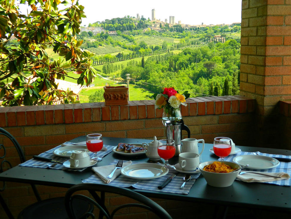 Camelia Apartment in Farm House in San Gimignano