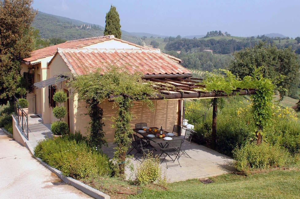 Glicine Wohnung in San Gimignano