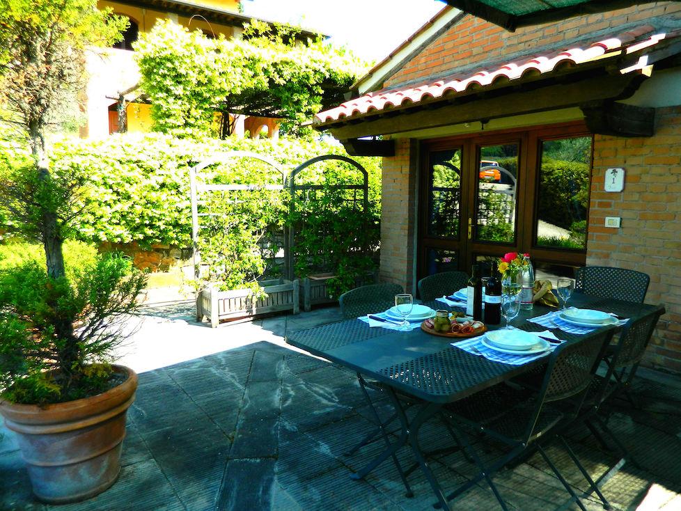 Iris Wohnung in Bauernhaus Raccianello